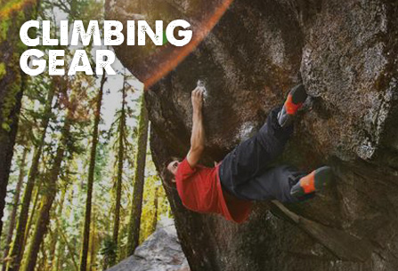 Climbing Shoes, Carabiners & More
