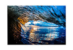 Canvas Wave Saran Print