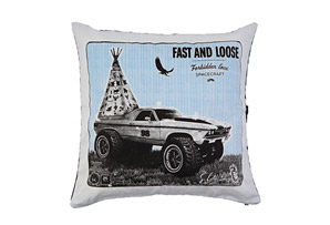 Spacecraft Fast & Loose Pillow Case