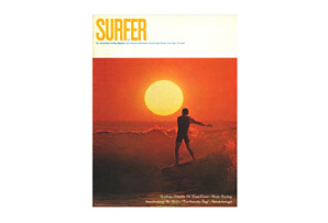 Earthquake Vintage Surfer Cover Poster