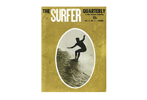 Classic Vintage Surfer Cover Poster