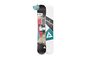 Academy Snowboards Rhythm Snowboard - Reverse Camber