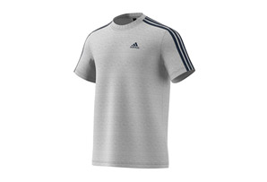 adidas Essentials 3-Stripe Tee - Men's