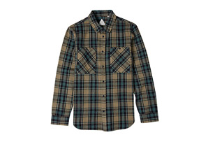 Altamont Binary Long Sleeve Flannel - Men's