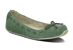 Ahnu Arabesque Suede Flats - Womens