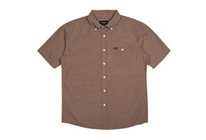 Brixton Central Short Sleeve Woven - Men's
