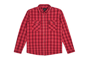 Brixton Bowery Long Sleeve Flannel - Men's
