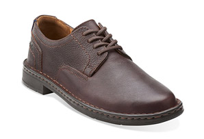 Clarks Kyros Plain Shoes - Men's