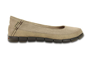Crocs Stretch Sole Flat - Women's