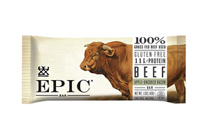 EPIC Bar Beef Apple Bacon Bars - Box of 12