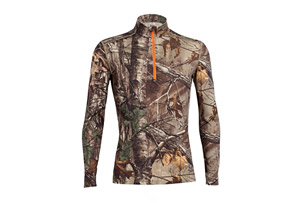 Icebreaker Ika Long Sleeve Half Zip Real Tree - Men's