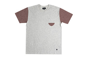 Imperial Motion Harper Short Sleeve Henley - Men's