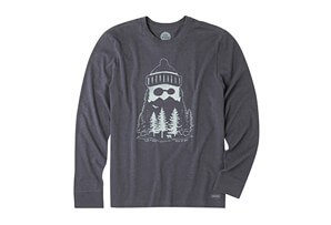 Mountain Beard Crusher Long Sleeve - Men's