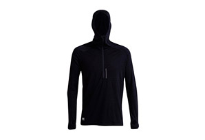Mons Royale Temple Tech Zip Hood LS - Men's