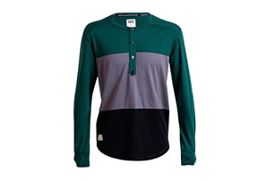 Mons Royale 1961 Henley LS Shirt - Men's
