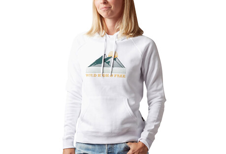 Mountain High Pullover Hoody - Women's