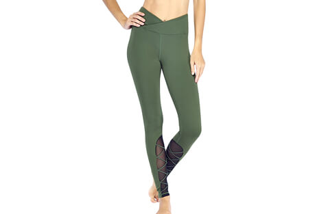 Electric Hi-Waisted Entrapped Legging - Women's