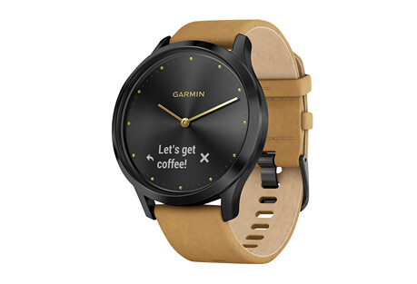 vivomove HR Premium Watch + Extra Silicone Band