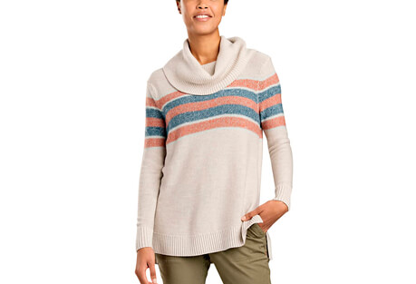 Cabriolet T-Neck Sweater - Women's