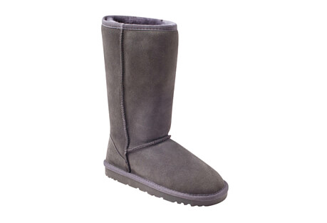 Genuine Sheepskin Tall Boots - Women's